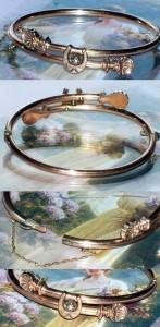 Victorian Rose Gold Bracelet