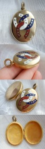Victorian Gilt Locket