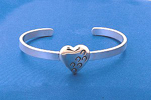 Hoof Prints on Your Heart Bracelet