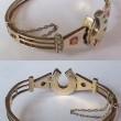 Hoofprints of History: Vintage Horseshoe Jewelry