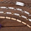 Perfect for Horse Lover: Nameplate Bracelets