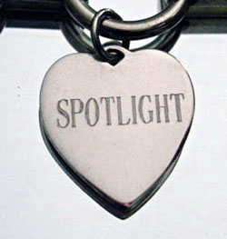 Sterling Silver Tiffany Style Heart Charm