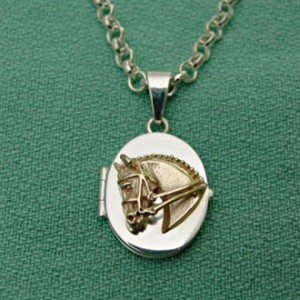 dressage-locket